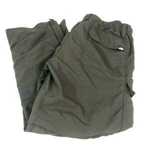 The North Face olive green men's short Med pants
